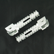 Silver SBK Pegs for OEM Mounts - 05-01203-21