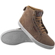 Tan Black Nine Moto Shoes