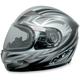 Multi Silver FX-90S Snow Helmet
