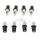 Silver Spike Windscreen Screw Kit - 17-36029