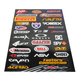 Small Logo Sticker Sheet - N30-1044