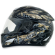 Black/Silver FX-95 Dfly Helmet