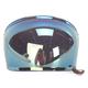 Iridium Gold Bubble Shield with Brown Tab for Bullitt Helmets - 8013389
