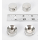 Bandit Stainless Steel Headbolt Covers - LM600-1A