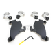 Black No-Tool Trigger-Lock Hardware Kits for Gauntlet Fairing - MEB1981