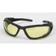 Black C-4 Performance Sunglasses w/Night Driving Lens - C-4BK/ND