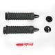 Black Braided Grips - 6330
