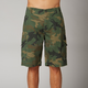 Green Camo Slambozo Cargo Shorts