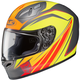 Red/Yellow/Gray/Orange FG-17 MC-6F Thrust Helmet