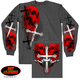 Skulls and Crosses Long Sleeve T-Shirt