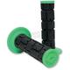 Green/Black MX Rogue Grips - H10RGNB