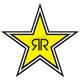 Rockstar Star Logo Sticker - 15-94730