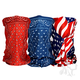 Red/White/Blue Patroitic Motley Tube 3 Pack - T3001