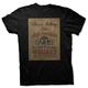 Black Vintage JD Poster T-Shirt