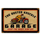 Busted Knuckle Parking Sign - 64024
