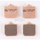 Double-H Sintered Metal Brake Pads - FA322/4HH