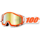 Orange/White Racecraft Mandarnia 2 Goggle w/Mirror Gold Lens - 50110-092-02