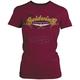 Womens Burgundy Goldwing Posh T-Shirt