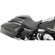 Black Mild Stitch Solo Seat w/EZ Glide Backrest Option - 0801-0886