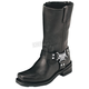 Womens Classic Harness Leather Boots