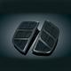 Gloss Black Kinetic Passenger Floorboard Inserts - 4399