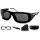Matte Black Traitor Street Series Sunglasses - ETRA001
