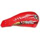 Red Qualifier Handguards w/Aluminum Mounting Hardware - 0635-1072