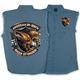 Denim Eagle Shield Sleeveless Shirt