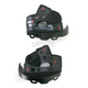 Black Firm Cheek Pad Set for Medium and Large Star Helmets