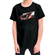Childs Black Grunge T-Shirt