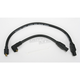 Black 409 Pro Race Wires w/180 Degree Boot - 49033