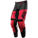 Youth Black/Red Optic Metal Mulisha Pants