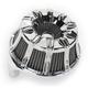 Chrome Inverted Series 10-Gauge Air Cleaner Kit - 18-942