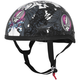 Womens Black/Pink/White Grateful Dead Flying Steal Your Face Half Helmet