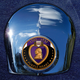 Crown 1.8 Inch Horn Cover Attachment With Engraveable Purple Heart 2-Sided Coin - JMPC-HC-PURPLEHE