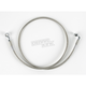 Front Clear-Coated Braided Stainless Steel Brake Line Kits - 1204-2738