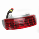 Low Profile Tri-Bar Dual Intensity LED Fender Tip w/Red Lens - RIV-TRI-3-RED
