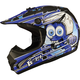 Youth Black/Blue GM46.2 Superstar Helmet