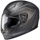Black/Gray FG-17 MC-5F Thrust Helmet