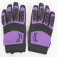 Womens Purple/Black Velocity Gloves