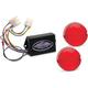 Plug-In Illuminator with Red Lenses - ILL-02-RL-B