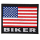 American Biker Flag Patch - PPF5001