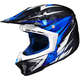 Blue/Black MC-2 CL-X7 Pop 'N Lock Helmet