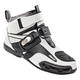 White/Black Atomic Leather Shoes