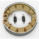 Sintered Metal Grooved Brake Shoes - 343G
