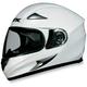 Pearl White FX-Magnus Big Head Helmet