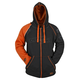 Orange/Black United By Speed Armored Hoody