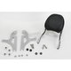 Touring Quick-Detach Passenger Backrest Kit w/8 in. x 8 in. Pad - 34-5208-01