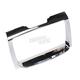 Chrome Tri-Line Stereo Trim - 7239