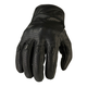 Black 270 Perforated Leather Gloves